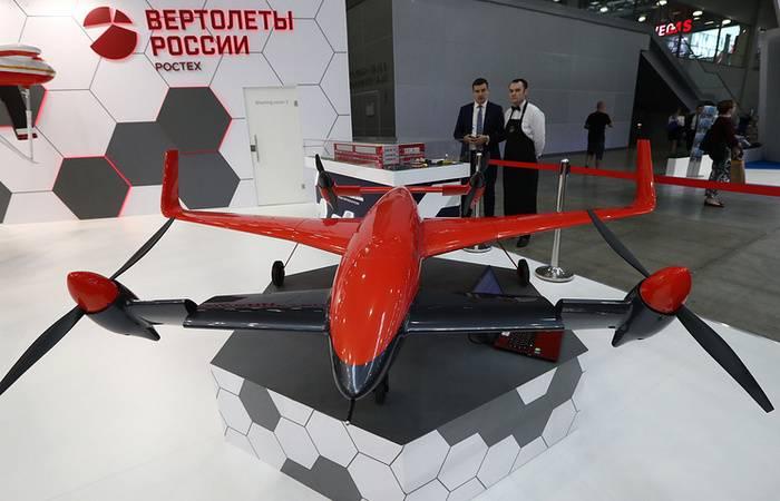 В Российской Федерации появится 1-ый электрический конвертоплан