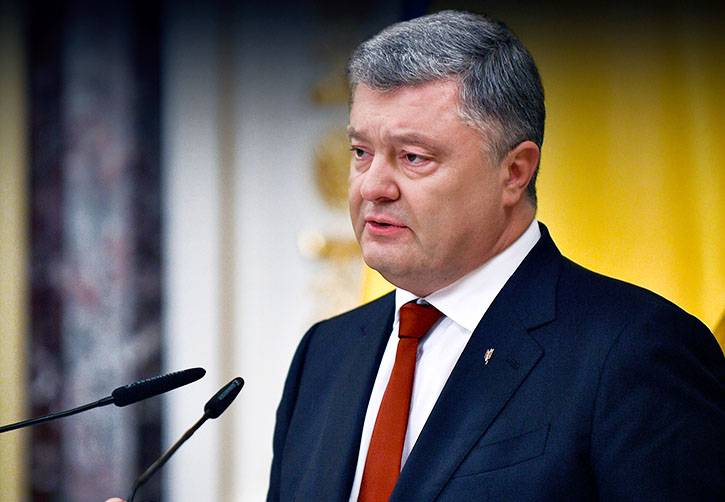 "Poroshenko refused to meet with a delegation of protesters ""because of its composition"""