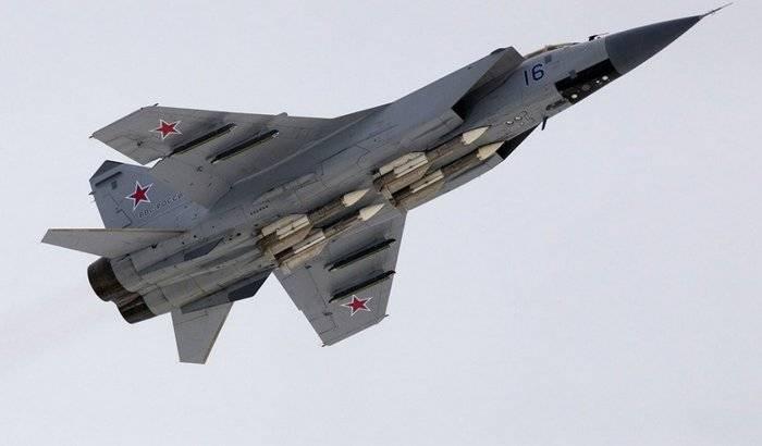 Два модернизированных МиГ-31БМ поступили в ЦВО