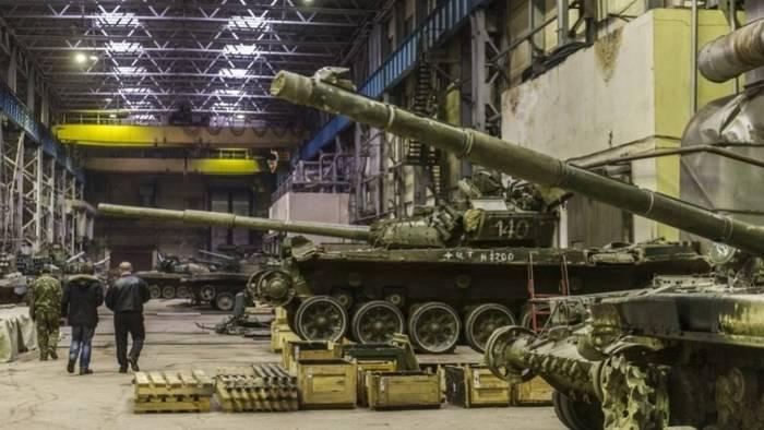 Omsk에서 시험용 탱크를 시험하기위한 새로운 장비