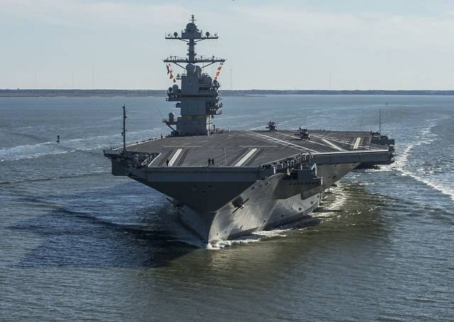 Study: aircraft carrier size matters