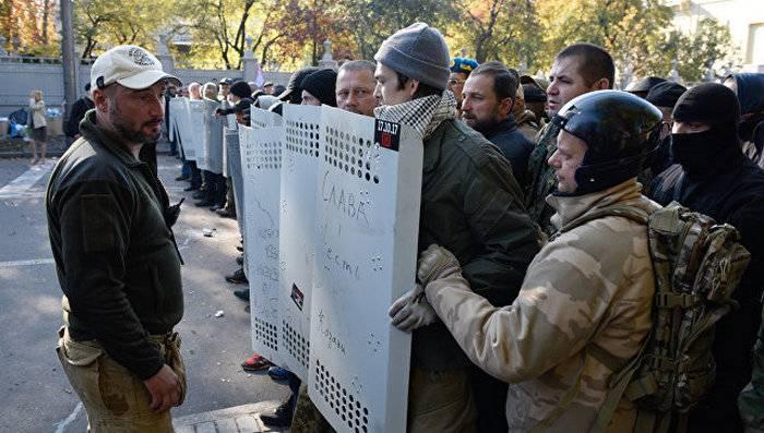 """""""Setor certo"""" declarou prontidão para atacar a Verkhovna Rada"""