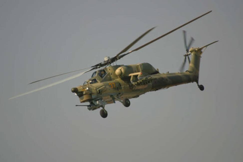 МинобороныРФ закупило учебно-боевые вертолеты для испытаний вСирии