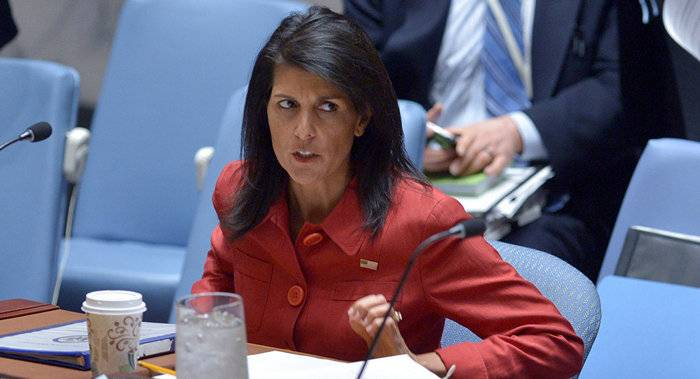 """Haley accused Russia of """"warfare"""" against the US in 2016"""