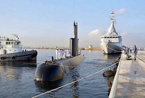 エジプトはドイツから2番目のディーゼル電気潜水艦とフランスからヘッドコルベットを受け取りました