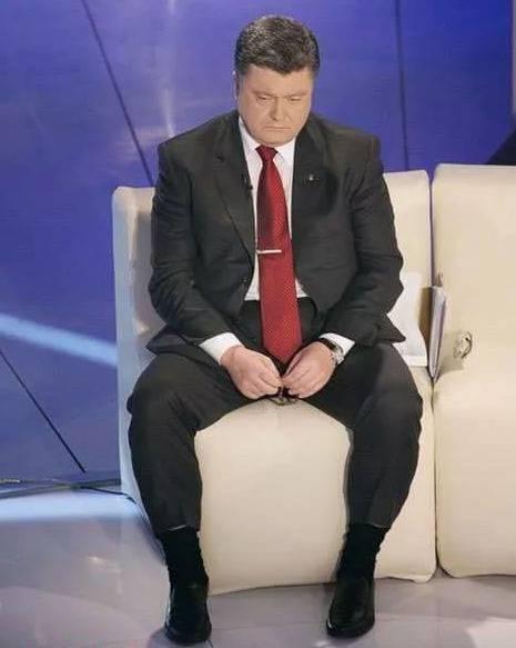 Poroshenko의 첫 번째와 마지막 학기