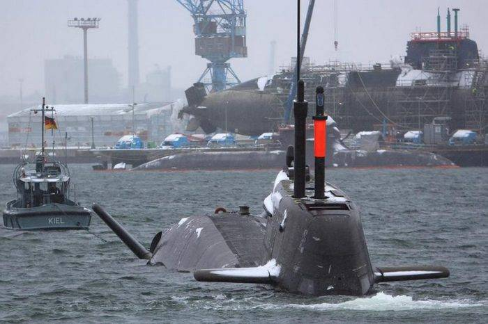 Germany remained without combat-ready submarines