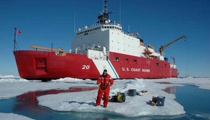 """Os EUA construirão um quebra-gelo para """"jogar na mesma liga"""" com a Rússia no Ártico"""