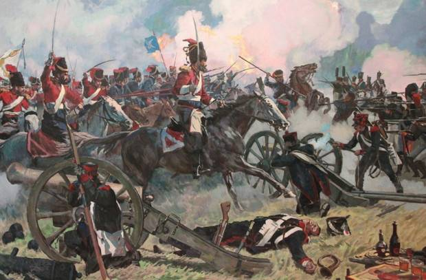 Russian troops defeated the King of Neapolitan