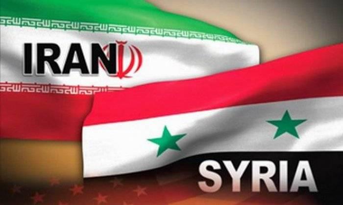 Сирия и Иран подписали меморандум о развитии военного сотрудничества