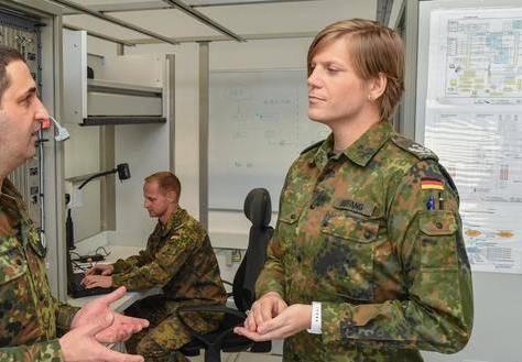 Подполковник Анастасия:  трансгендер впервые назначен на должность комбата в ФРГ
