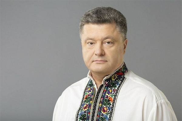 Poroshenko: I will make every effort for the emergence of peacekeepers in the Donbas