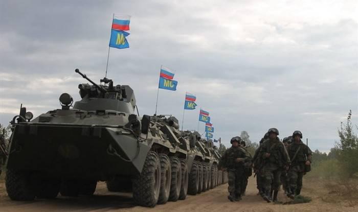 Samara bölgesinde yaklaşık iki bin barış gücü egzersiz yaptı