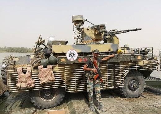 Nell'area di Deir ez-Zora, è stata notata una delle migliori opzioni di modernizzazione per il BRDM-2