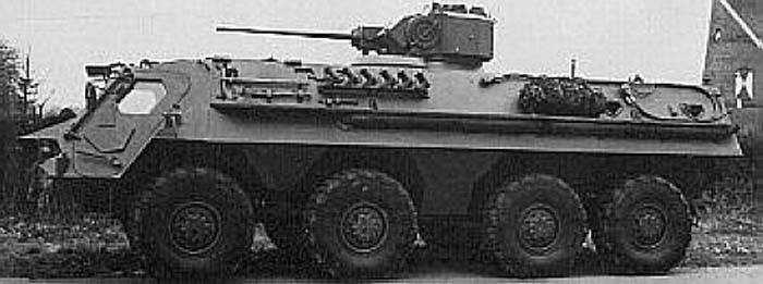 Zırhlı asker taşıyıcı TPz 1 Fuchs 8x8 (Almanya)