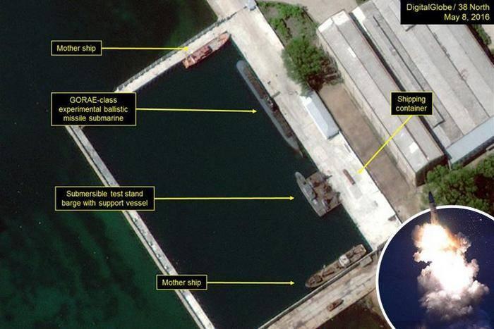 Corea del Norte tiene un segundo submarino con un misil balístico.