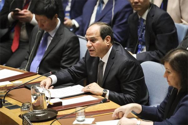 Al-Sisi:来自叙利亚和伊拉克的恐怖分子可能会迁往埃及