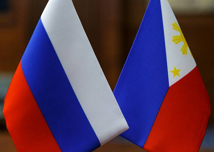 Russia and the Philippines have signed the first contract for the supply of weapons