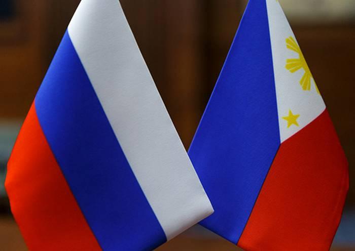 Russland und die Philippinen haben den ersten Vertrag über die Lieferung von Waffen unterzeichnet