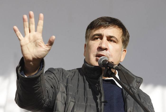 ウクライナの移民局はSaakashvili難民の地位を拒否した