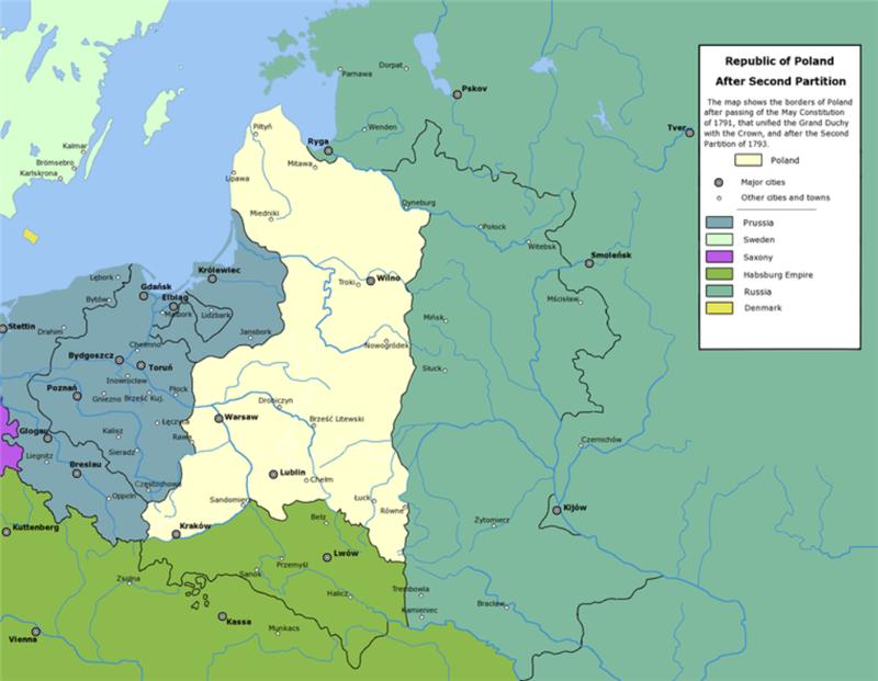 """La destruction de l'Ukraine sur les """"manuels"""" du XVIIIème siècle"""