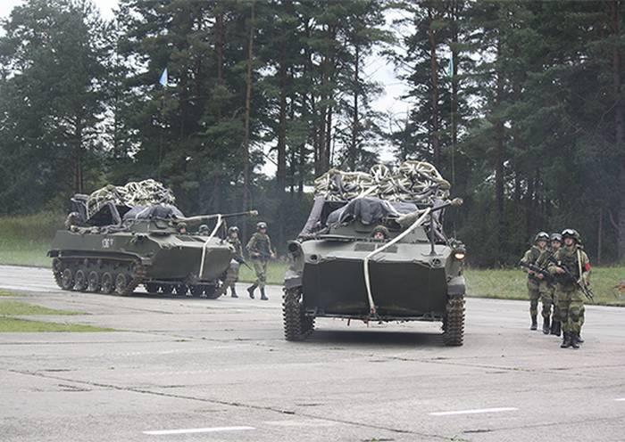 Die gemeinsame Übung der Luftstreitkräfte und der militärischen Transportluftfahrt begann