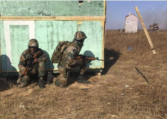 L'armée indienne en Primorye a démontré sa capacité à détruire des terroristes conditionnels