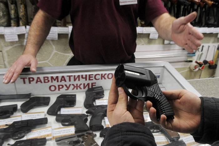 Rosgvardiya quer apertar o controle sobre armas traumáticas