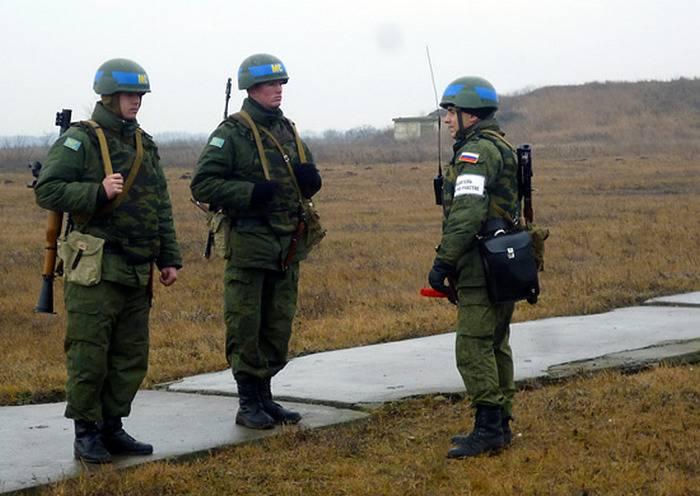 A rotação dos batalhões russos de manutenção da paz na Transnístria foi concluída na íntegra.