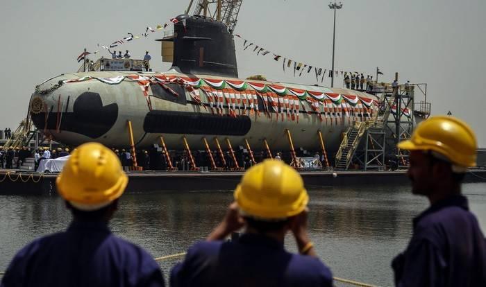 Quedan cuatro candidatos para la construcción de submarinos para la India.