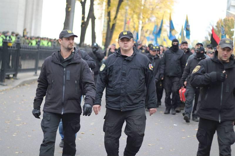 """우크라이나 국가 안보국 """"Donbass""""가 """"ATO""""를 떠나 키예프로 이사했다."""