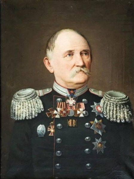 Edward Ivanovich Gerstfeld. Engenheiro militar proeminente do Império Russo