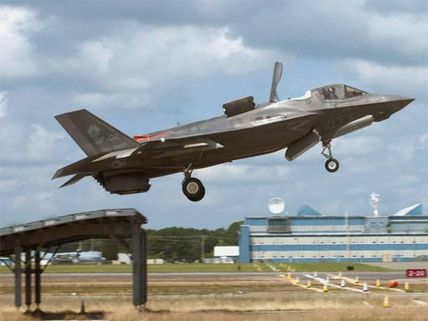 Aux États-Unis ne peut pas comprendre la cause des pilotes de manque d'oxygène F-35