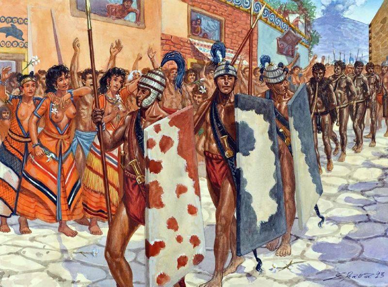 «Они поклонялись быку!» Самая развитая цивилизация Средиземноморья эпохи бронзы (часть пятая)