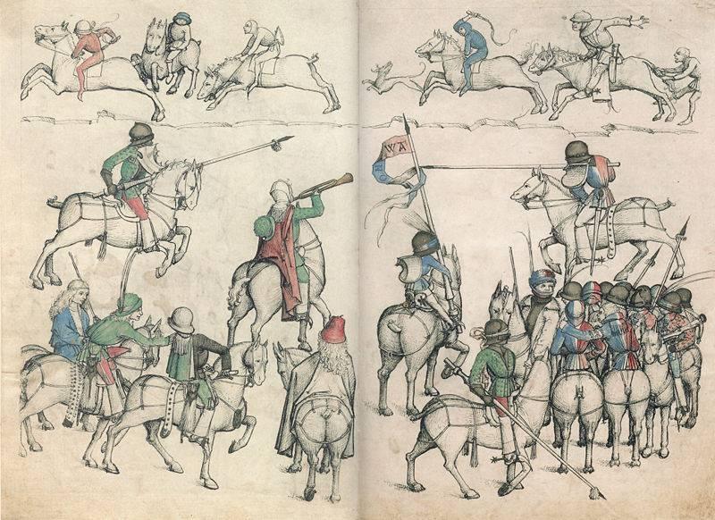 Sobre torneios de cavaleiros em detalhes ... (parte dois)