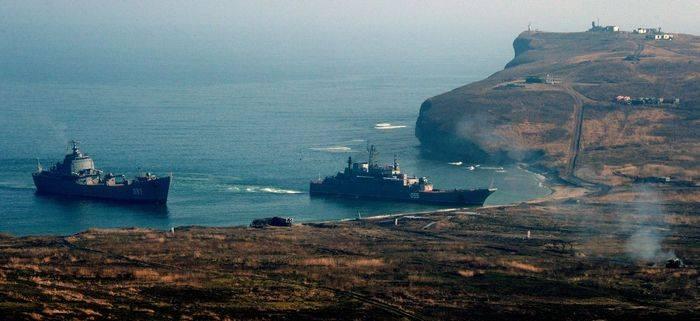 Rus Donanması'nın evrensel üssü Kuril Adaları'nda görünecek
