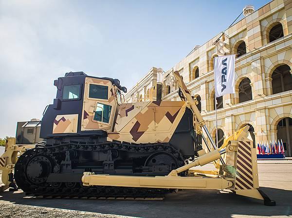 车里雅宾斯克拖拉机为国防部掌握了推土机的生产
