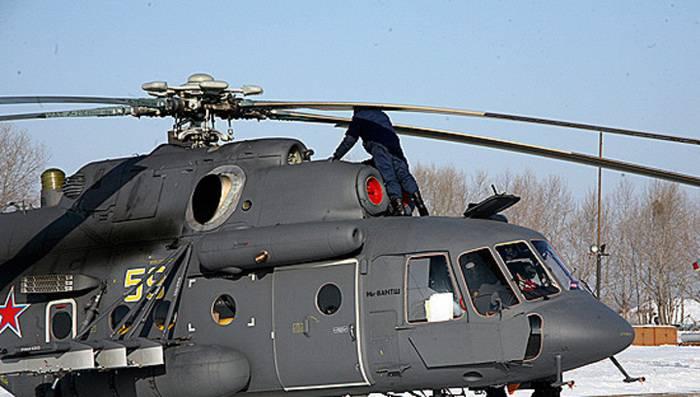 El Ministerio de Defensa de la Federación Rusa también comprará otros tres vehículos de asalto Mi-8AMTSH