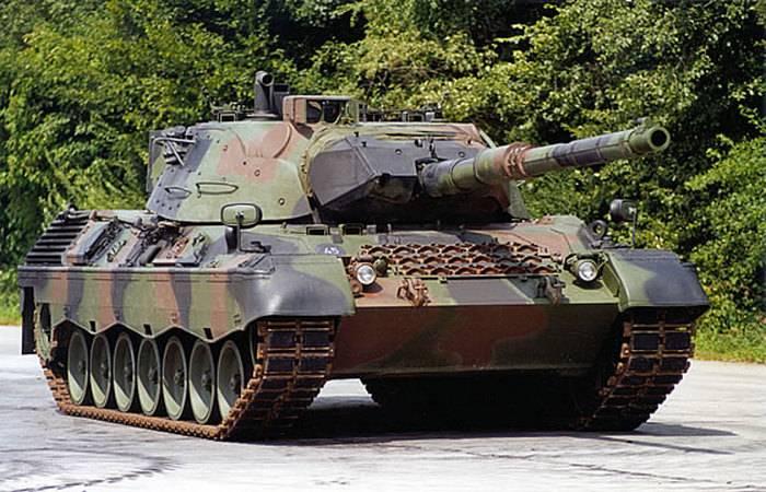 巴西计划再购买一批MBT Leopard-1A5