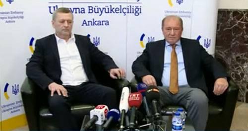 """""""Medzhlisovtsy"""" pardonné à Ankara s'est déclaré prêt à retourner en Crimée"""
