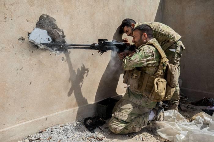 库尔德人报告说他们击退了摩苏尔以外的伊拉克军队