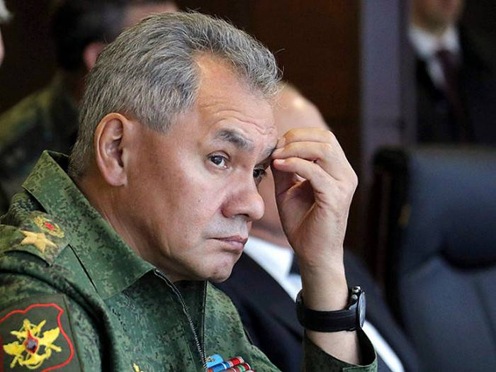 Shoigu declared aggravation of the situation on the western border of Russia