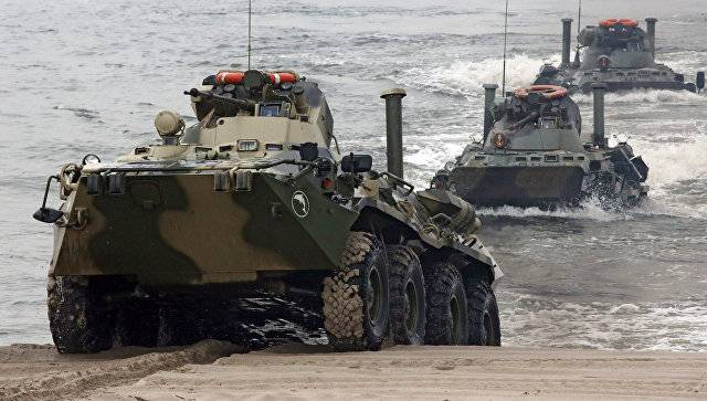 Russia annually supplies abroad hundreds of BTR-82A