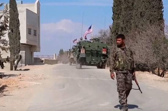 Две группы боевиков вышли с американской базы Эт-Танф в Сирии