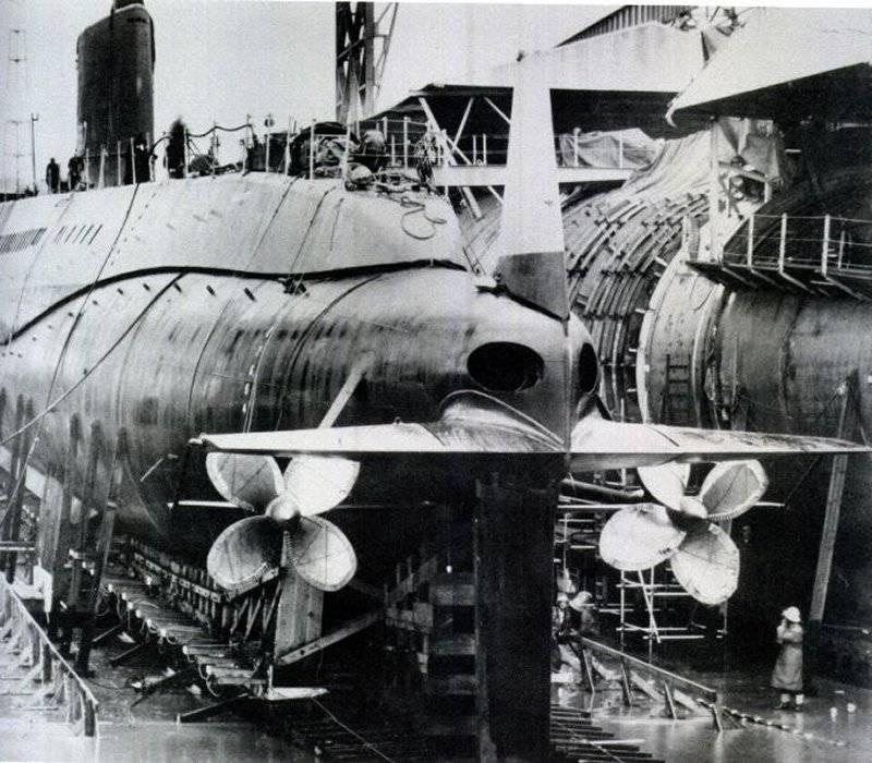 핵 잠수함 USS Halibut (SSGN-587). 파트 I : 잠수함 잠수함