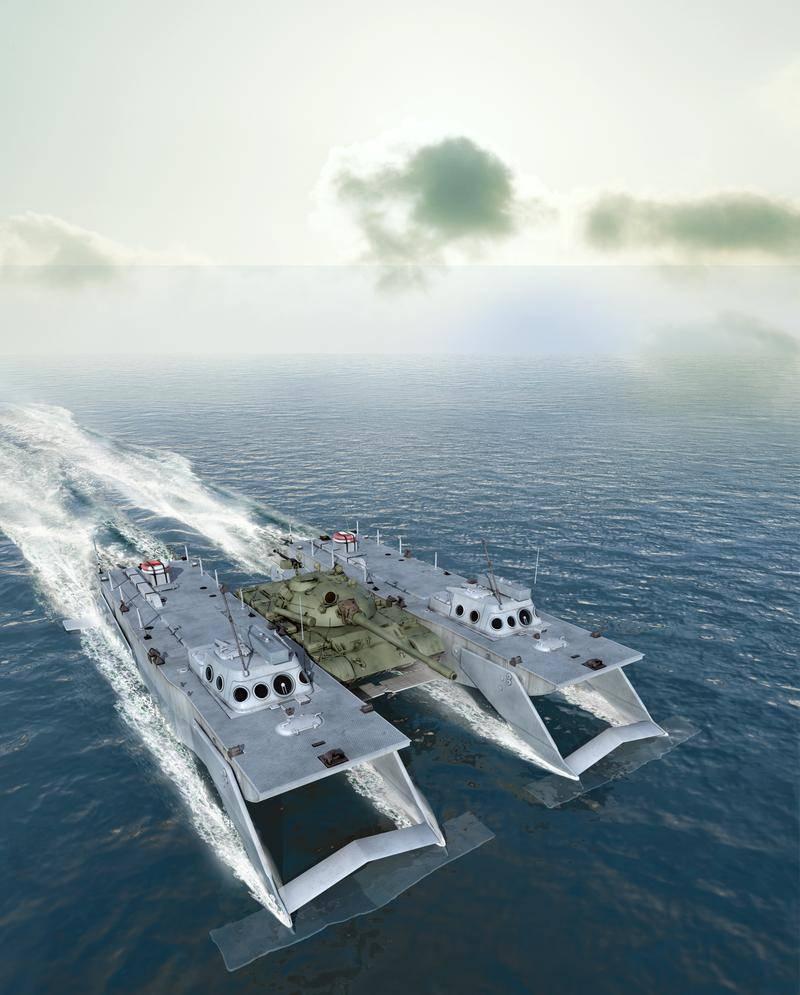 Tanque Hidrofólio: O Famoso Projeto Soviético