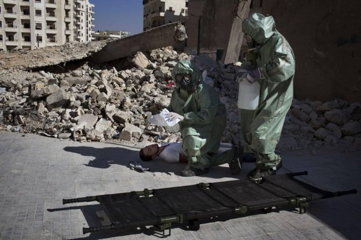 Objectif numéro un: l'Occident à nouveau chimite avec des accusations contre Assad