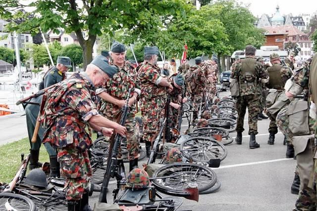 Военные сборы швейцарской армии