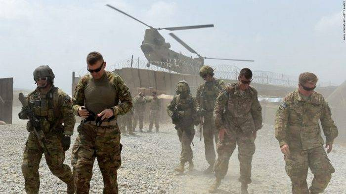 US military killed in helicopter crash in Afghanistan