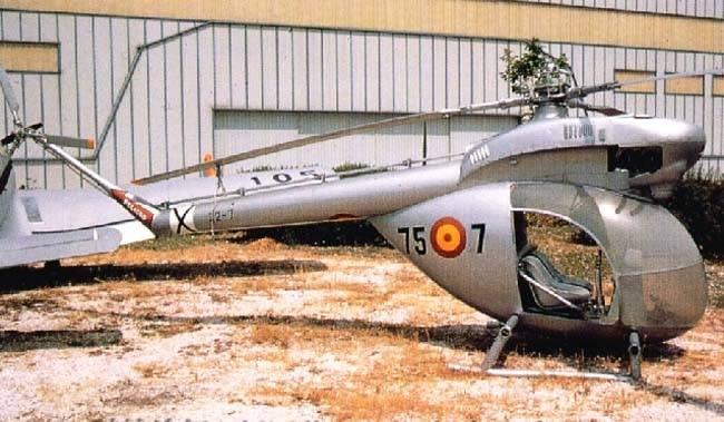 Helicópteros Aerotecnica AC-12 e Aerotecnica AC-14 (Espanha)